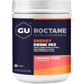 GU Energy Roctane Ultra Endurance Energiajuoma sekoitus purkki 780g, Tropical Fruit